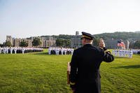 The Class of 2022 completes Reception Day at the U.S. Military Academy at West Point, July 2, 2018. (U.S. Army photo/Mike Lopez)