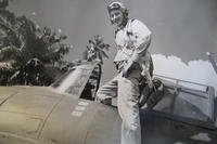World War II veteran Sam Folsom flew the Grumman F4F Wildcat during his time of service in Guadalcanal in late 1942. (Courtesy Photo)