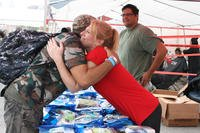 Soldiers' Angels runs food distribution sites through the Department of Veterans Affairs. (Photo courtesy of Soldiers' Angels)