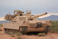 U.S. Army M1 Abrams tank of the 118th Infantry Regiment South Carolina National Guard, provides security during Operation Hickory Sting at Ft. Bliss, Texas, August 9, 2018. (U.S. Army/Sgt. Wayne Becton)