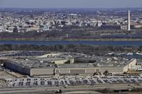 A view of Pentagon with the Washington Monument in the background. (DoD Photo)