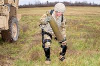 The Army recently held a three-day User Touch Point event at Fort Drum, New York to gain soldier feedback on exoskeleton technology. (Photo: U.S. Army)