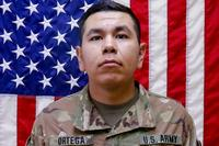 Army Spc. Andrew S. Ortega (pictured here when he was a Private First Class), a horizontal construction engineer with the 1st Armored Brigade Combat Team, 1st Calvary Division, was killed at Grafenwoehr Training Area, Germany on January 13, 2019. (U.S. Army)