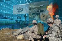 U.S. military has embraced AI, arguing that America cannot compete against potential adversaries without the futuristic technology. (U.S. Dept of Defense/Peggy Frierson)