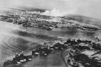 Japanese view of the Pearl Harbor attack in 1941.