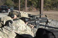 Coast Guard sniper unit training