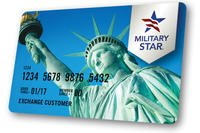 The military star card (Photo: AAFES)