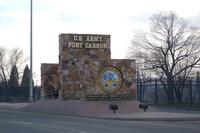 Sign welcomes visitors to Fort Carson, Colorado (Army Photo)