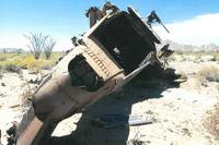 CH-53 hard landing and rollover in Yuma, Arizona. (Marine Corps Photo)