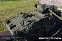 General Dynamics answers the Army's call with the Stryker Dragoon featuring a 30mm Cannon. (Screengrab from Military.com video)