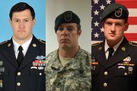 The three Green Berets killed in Jordan were identified as Staff Sgts. Matthew Lewellen, Kevin McEnroe and James Moriarty. (Photos courtesy U.S. Army)