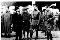 "General John J. ""Black Jack"" Pershing, second from right, commanded the American Expeditionary Forces that fought in France during World War I. (US Army photo)"