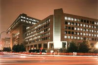 FBI Headquarters at night (Photo: FBI)