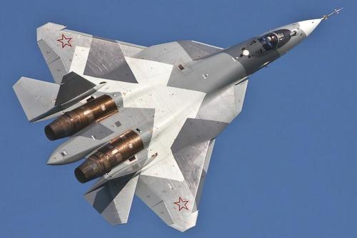 Russia's Su-57 stealth fighter, also known as the T-50. (Image: United Aircraft Corporation)